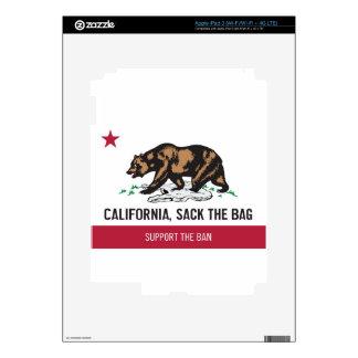 California, despide el bolso iPad 3 skins