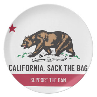 California, despide el bolso platos de comidas