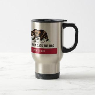 California despide el bolso taza