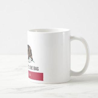 California, despide el bolso tazas de café
