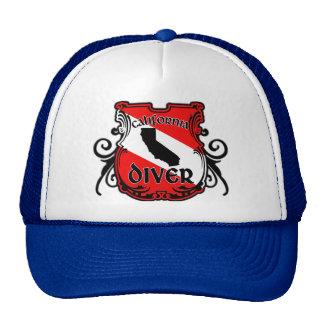 California Diver Trucker Hat