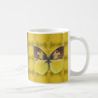 California Dog Face Butterfly Coffee Mug