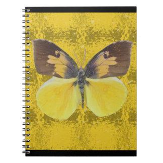 California Dog Face Butterfly Notebook