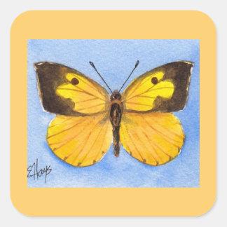 California Dogface Butterfly Sticker