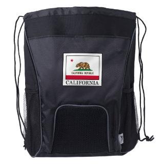 California Drawstring Backpack