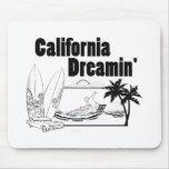 California Dreamin Alfombrillas De Ratón