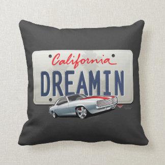 California Dreamin' Camaro PILLOW