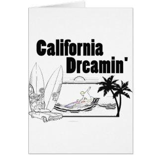 California Dreamin' Card