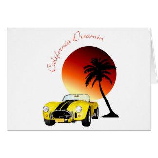 California Dreamin Card