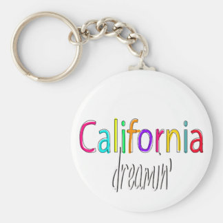 California Dreamin' Keychain