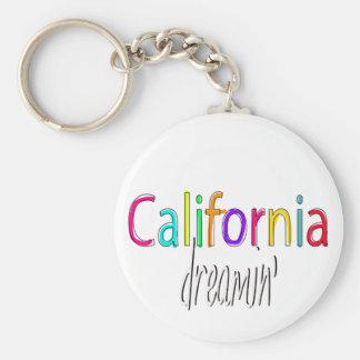 California Dreamin Llaveros Personalizados