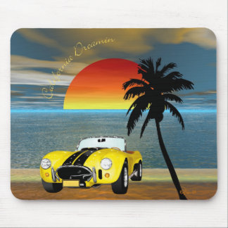 California Dreamin Mouse Pads