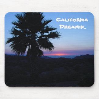 California Dreamin Mousepad Alfombrillas De Ratón