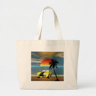 California Dreamin mp Jumbo Tote Bag