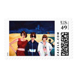 California Dreamin' Postage Stamps