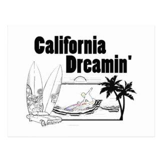 California Dreamin' Postcard