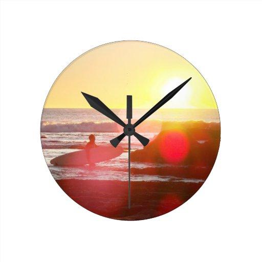 California Dreamin Relojes De Pared