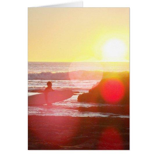 California Dreamin Tarjeta De Felicitación