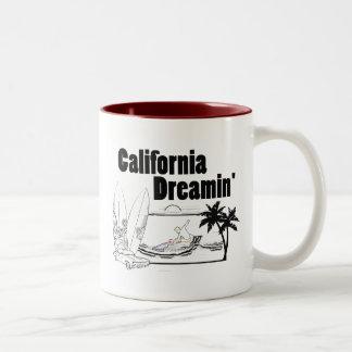 California Dreamin' Two-Tone Coffee Mug