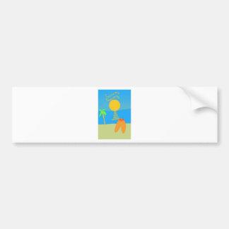California Dreaming Bumper Sticker