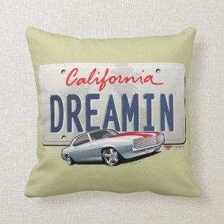 California dreaming Camaro pillow