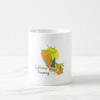California Dreaming Classic White Coffee Mug