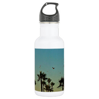 California dreaming stainless steel water bottle