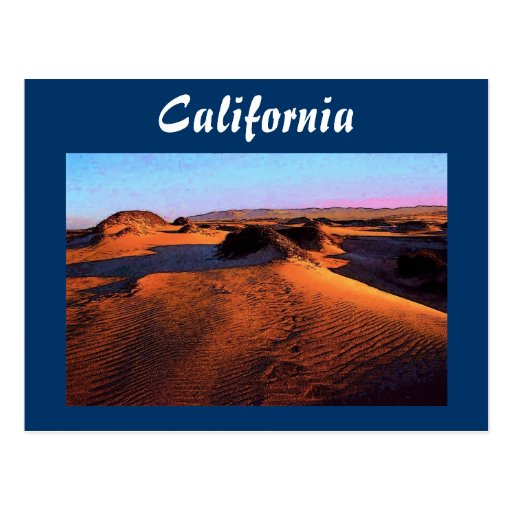 California Dunes Postcard