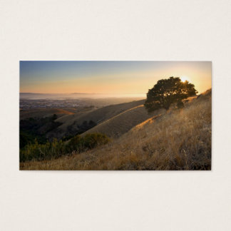 California East Bay Hills in Summer business card
