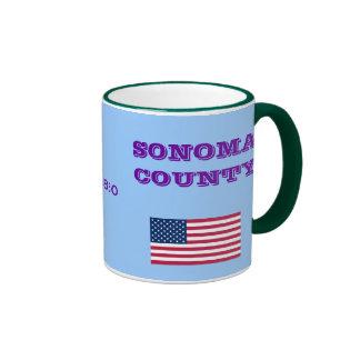 California el condado de Sonoma * taza de café