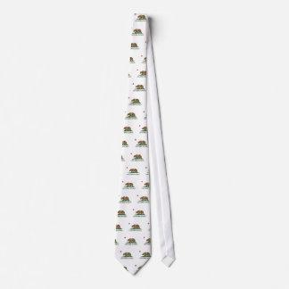 California - el Golden State Corbata Personalizada
