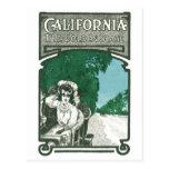 California el Golden State Tarjetas Postales
