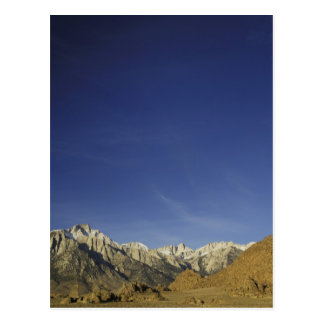 California, el Monte Whitney, bosque del Estado de Postal