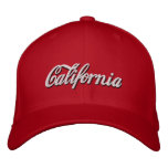 california embroidered baseball hat