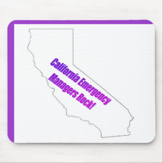 California Emergency Managers Rock! Mouse Pad