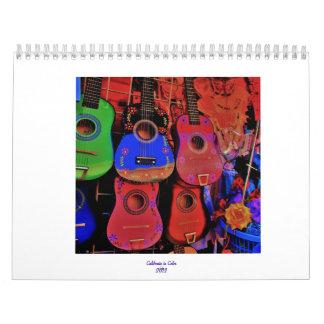 California en color calendarios
