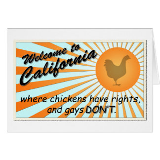 California Equal Rights Greeting Cards