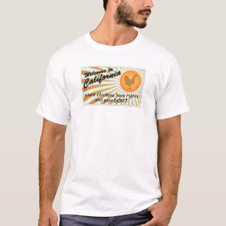 California Equal Rights Ladies Tonal Stripe T-Shirt