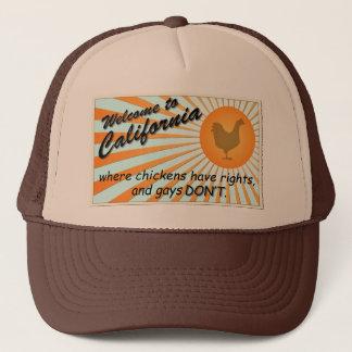 California Equal Rights Trucker Hat