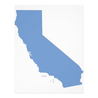 California: ¡Estado azul! Membrete Personalizado