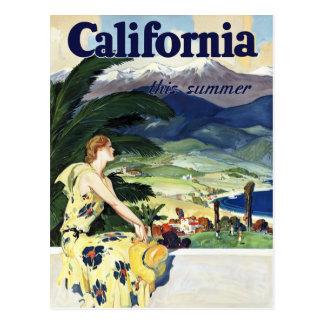California este verano postal