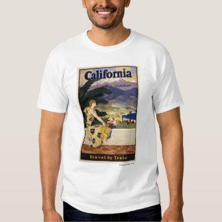 California este verano. Viaje en tren Remeras