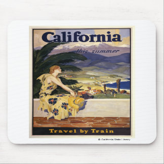 California este verano. Viaje en tren Tapete De Raton