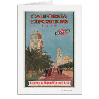 California Expositions Poster #1 Card
