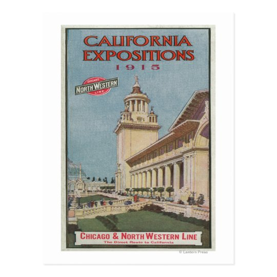 California Expositions Poster #2 Postcard