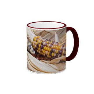California. Fall Harvest Colorful Indian Corn Coffee Mug