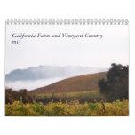California Farm and Vineyard Country 2013 Wall Calendars