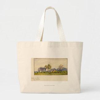 California Farm, Near Stockton Jumbo Tote Bag