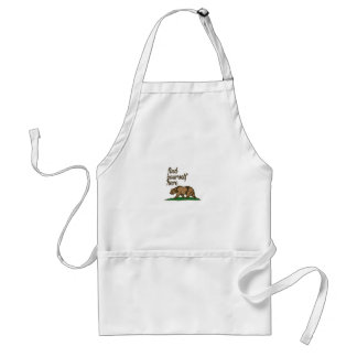 california-find-yourself-here adult apron