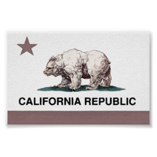 California_Flag2 Poster